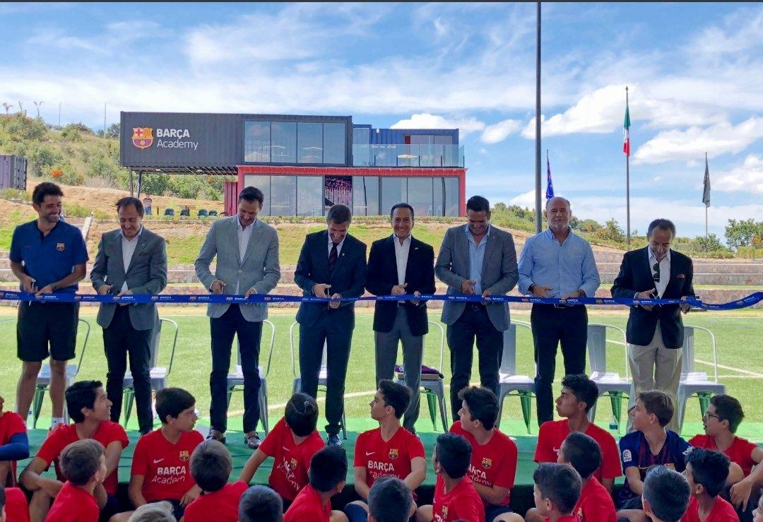 Academia de fútbol Barça Academy llega a Puebla 98621cb8e81